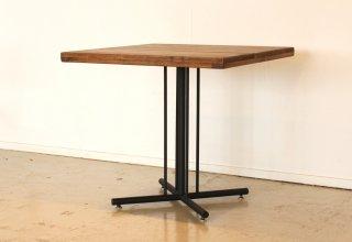 古木風に仕上げたパイン無垢材のレトロな味わいを感じられるカフェテーブル72