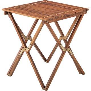 コンパクトサイズの天然木ロールトップテーブル