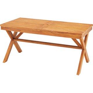 チーク材の大型ガーデンテーブル