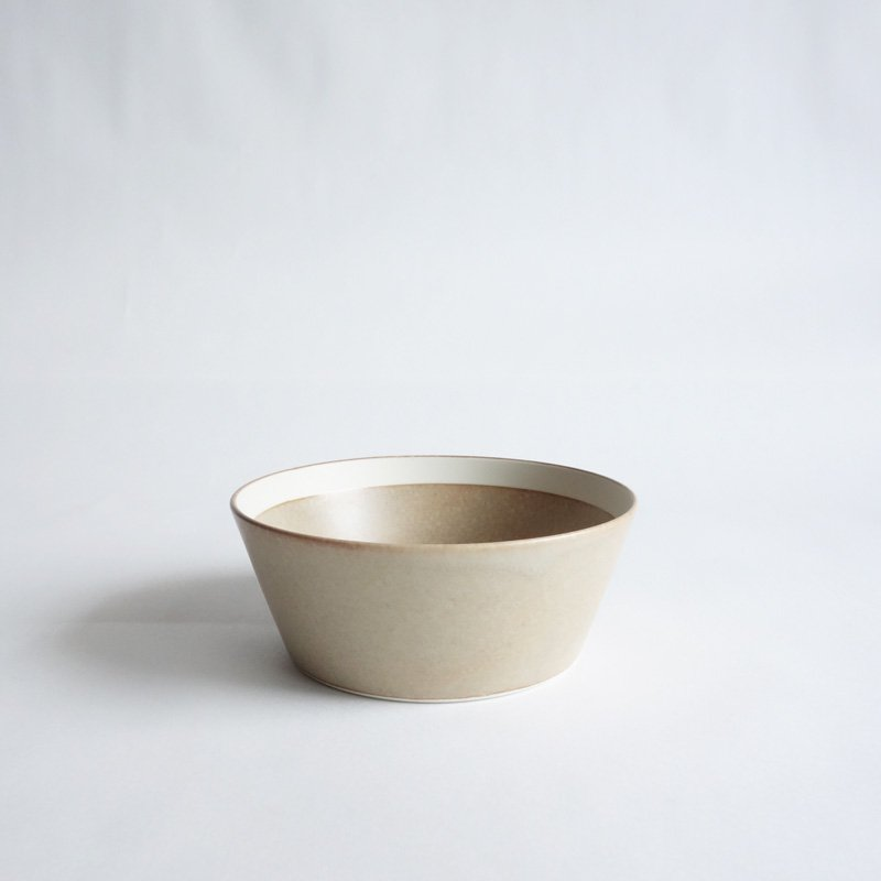 イイホシユミコ dishes bowl S sand beige/matte