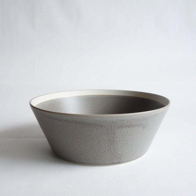 イイホシユミコ dishes bowl L moss gray/matte