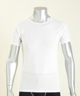 日本製 コンフォータブル半袖シャツ メンズ  ナノミックス | 日本アトピー協会推薦品 インナー トップス  吸水速乾 消臭抗菌 特許 肌にやさしい かぶれない ムレない 縫い代 Tシャツ カットソー