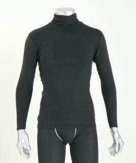日本製 タートルネックシャツ メンズ  ナノミックス |  トップス インナー 吸水速乾  消臭抗菌 特許 肌にやさしい かぶれない ムレない  秋冬