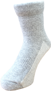 日本製 安眠ソックス グレー 23〜27cm | 日本アトピー協会推薦品 メンズ レディース  遠赤外線 秋冬 冷え性 薄手 吸水速乾  保温 肌にやさしい かぶれない ムレない