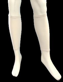 日本製 足湯サポーター ナノミックス 両足|日本アトピー協会推薦品 乾燥肌 敏感肌 かゆくならない ムレない 消臭抗菌 吸水速乾 加圧 立ち仕事