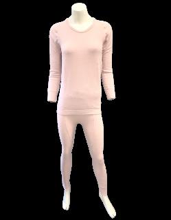 <img class='new_mark_img1' src='https://img.shop-pro.jp/img/new/icons16.gif' style='border:none;display:inline;margin:0px;padding:0px;width:auto;' />日本製 極暖Tシャツ・レギンス 上下セット ナノミックス 黒 ピンク |日本アトピー協会推薦品  あたたか 吸水速乾 消臭抗菌 ムレない かゆくならない 敏感肌