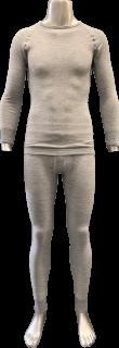 <img class='new_mark_img1' src='https://img.shop-pro.jp/img/new/icons16.gif' style='border:none;display:inline;margin:0px;padding:0px;width:auto;' />日本製 極暖Tシャツ・メギンス 上下セット ナノミックス 黒 杢グレー |日本アトピー協会推薦品  あたたか 吸水速乾 消臭抗菌 ムレない かゆくならない 敏感肌