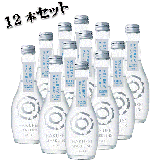 <img class='new_mark_img1' src='https://img.shop-pro.jp/img/new/icons26.gif' style='border:none;display:inline;margin:0px;padding:0px;width:auto;' />HAKUREI SPARKLING(WATER) 12本セット (お酒ではありません)