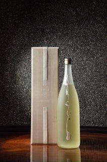 神からの恵みの酒 『豊』 墨象原画ボトル 『GASYO』