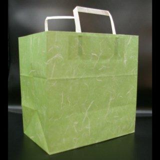 手提げ紙袋[雲竜 緑(260×160×260)]50枚