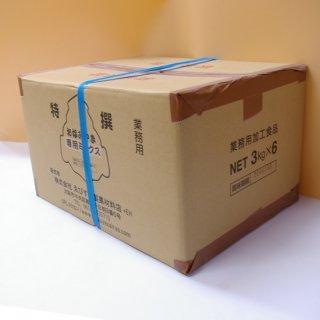 お好み焼き専用ミックス粉        [3�]×6=18kg