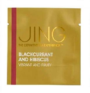JINGTEA ジンティー ブラックカラント&ハイビスカス ティーバッグ 10袋