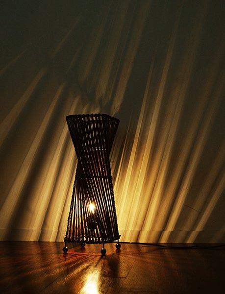 バンブートルネードランプ(花台付)M50