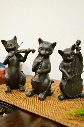 ミニオーケストラ ネコ 3匹セット