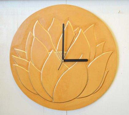 ロータス壁掛け時計