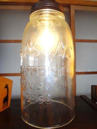ガラスジャーシーリングランプ(Aタイプ)