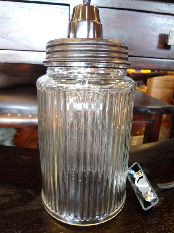 ガラスジャーシーリングランプ(Bタイプ)