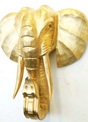 ゴールドゾウマスク