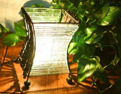 ココ枝とガラスのランプS