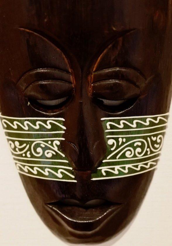 ロンボクマスク30cm(グリーン)