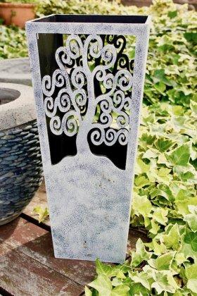 【4月中旬入荷予定】ジャワツリー傘立て(ホワイト)