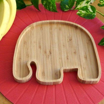 バンブープレート(食器)ゾウ