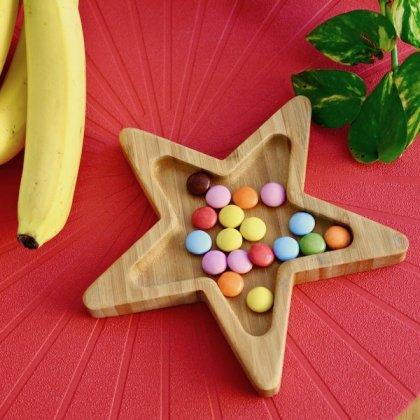 バンブープレート(食器)星