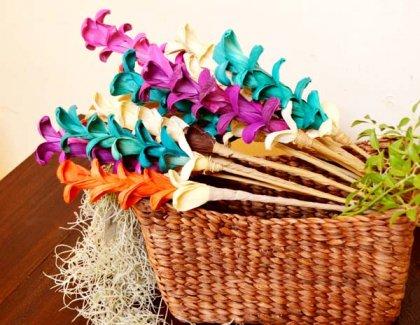 バリ島のナチュラルリーフ造花