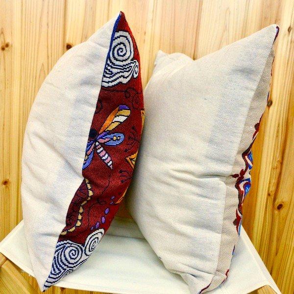 ボルダードクッションカバーと中綿クッションのセット