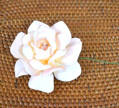 ローズレインボー(造花)パールホワイト