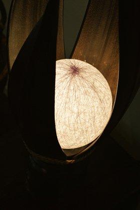ヤシリーフのムーンランプ