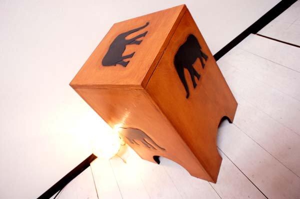 【10月下旬入荷予定】ゾウの収納スツール