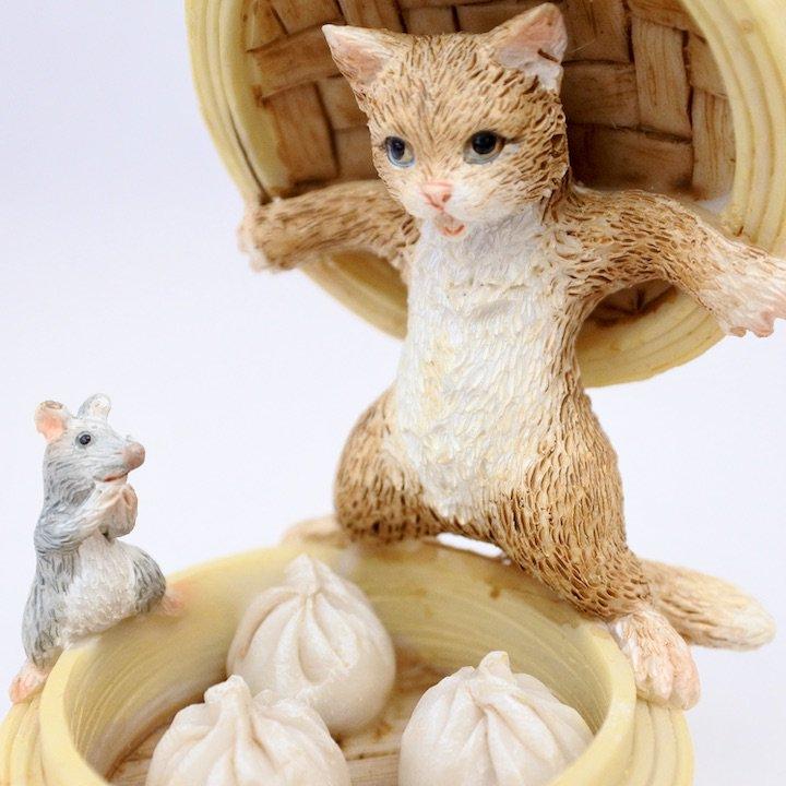 セイロとネコとネズミ