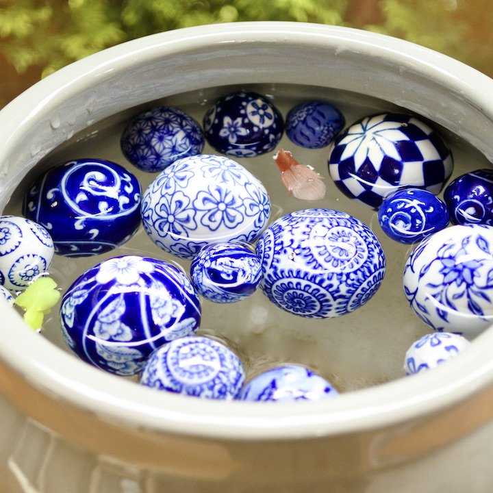 陶器の浮き玉M