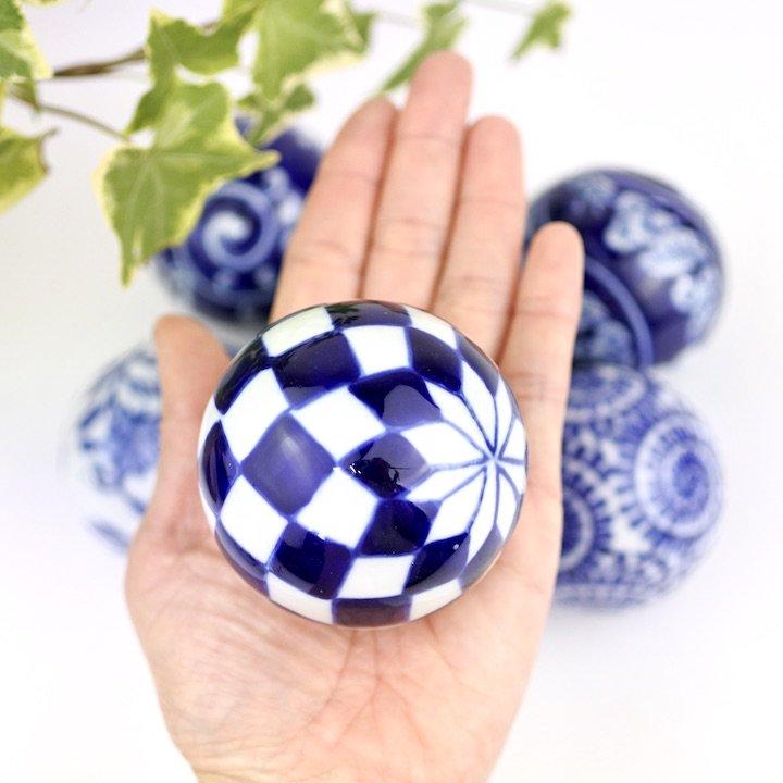 陶器の浮き玉L