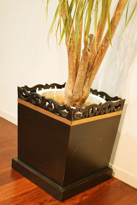 バリ島の鉢カバーL(7〜10号 大鉢用)