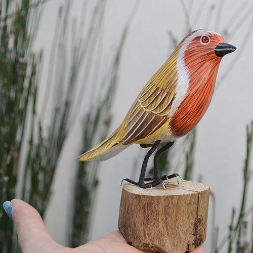 BALI島の小鳥さん 天然木 F〜Jタイプ