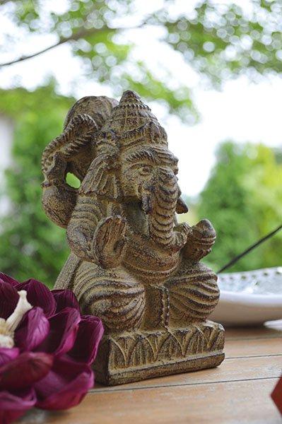 ガネーシャ像(Sサイズ 15�)
