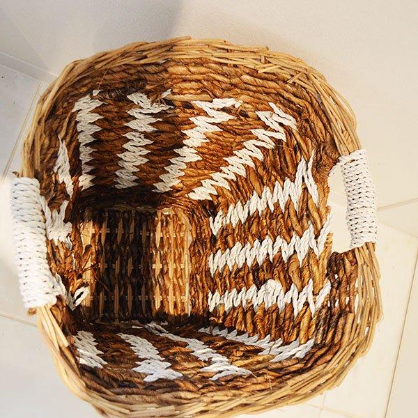 バナナリーフのグロッソバスケットMサイズ(取っ手付き)