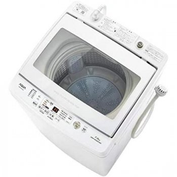 <img class='new_mark_img1' src='https://img.shop-pro.jp/img/new/icons61.gif' style='border:none;display:inline;margin:0px;padding:0px;width:auto;' />アクア AQUA  全自動洗濯機 ホワイト 7.0kg 送料無料 ※お取り寄せ【AQW-GV70J】