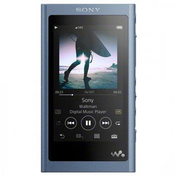 <img class='new_mark_img1' src='https://img.shop-pro.jp/img/new/icons61.gif' style='border:none;display:inline;margin:0px;padding:0px;width:auto;' />ソニー SONY Walkman(ウォークマン) A50シリーズ 16GB ハイレゾ音源対応 専用ヘッドホン付 ムーンリットブルー 【NW-A55HN-L】