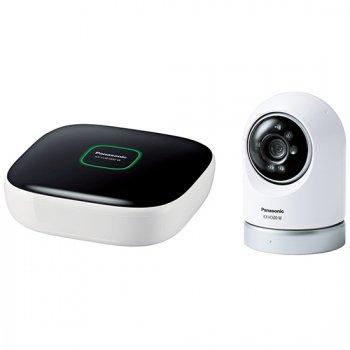 パナソニック Panasonic 屋内スイングカメラキット(ホームユニット+屋内スイングカメラ) 送料無料【KX-HC600K】