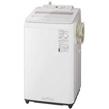 パナソニック 7.0kg 全自動洗濯機 泡洗浄 ホワイト 設置工事不可 ※お取り寄せ【NA-FA70H8-W】
