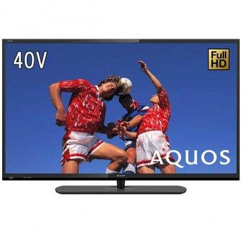 シャープAQUOS(アクオス) 40V型地上・BS・110度CSデジタルフルハイビジョンLED液晶テレビ ブラック 【2T-C40E1 】