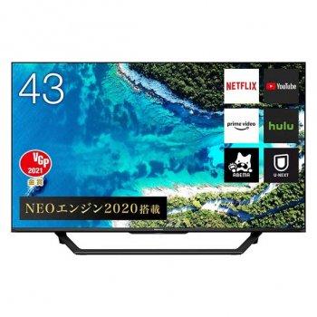 ハイセンス 43型4KBS/CSチューナー内蔵液晶テレビ 【43U7F】
