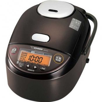 象印 ダークブラウン 極め炊き 圧力IH炊飯器(5.5合炊き)【 NP-ZH10-TD】