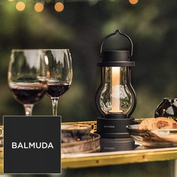BALMUDA バルミューダ LEDランタン BALMUDA The Lantern L02A-BK ブラック