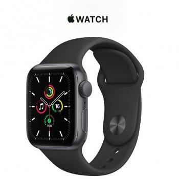 Apple Watch アップルウォッチ スマートウォッチ APPLE MYDP2J/A ブラックスポーツバンド SE GPSモデル 40mm
