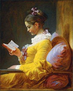 読書する女