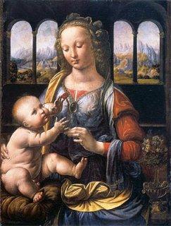 カーネーションの聖母  原画同寸